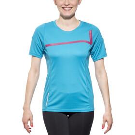 Cube Motion WLS Koszulka rowerowa z krótkim rękawem Kobiety, blue
